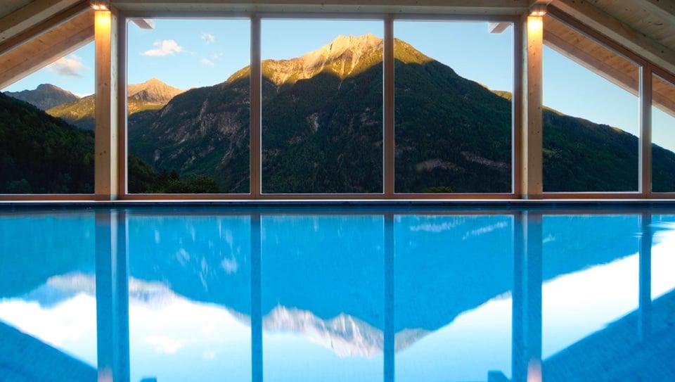 Acqua con vista hotel campo tures valle aurina val - Hotel valle aurina con piscina ...